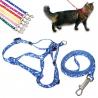 Smycz szelki dla małego kota, psa i innych niedużych zwierząt