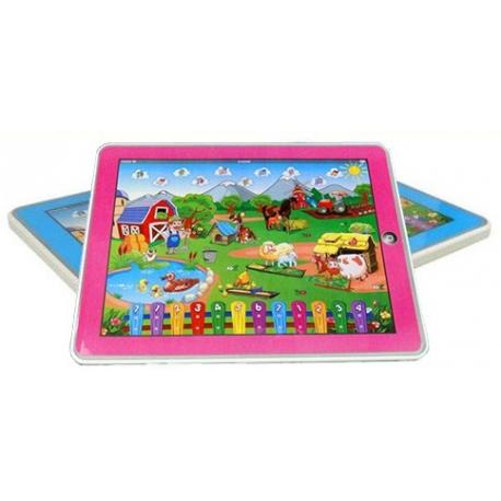 Tablet edukacyjny FARMA różowy lub niebieski
