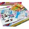 Gumki LOOM BANDS z akcesoriami - 1200 kolorowych gumek