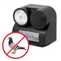 Odstraszacz ptaków błyskowo-dźwiękowy