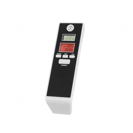 Alkomat bezustnikowy z termometrem i budzikiem