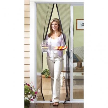 Moskitiera magnetyczna na drzwi