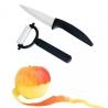 Nóż ceramiczny + obieraczka