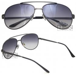 Okulary przeciwsłoneczne AVIATOR grafitowe