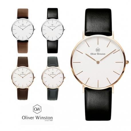 Skórzany zegarek Oliver Winston