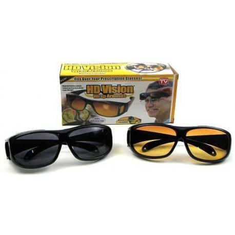 Okulary dla kierowców 2 w 1