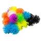 Kolorowe rzepy thorn ball cluster zestaw 100 elementów