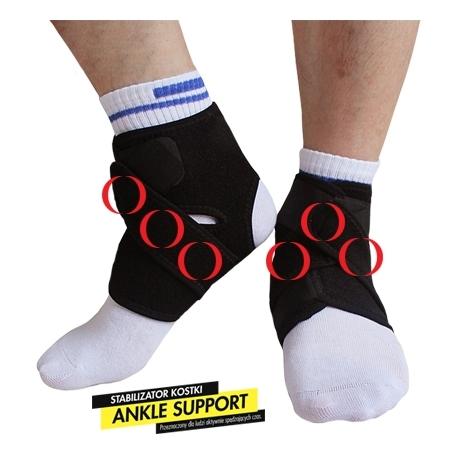 Stabilizator na kostkę Ankle Support z magnesami