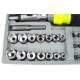Zestaw kluczy i śrubokrętów 41 części
