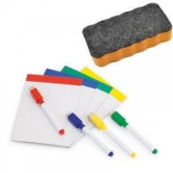 Zestaw tablica magnetyczna A4 + flamaster + gąbka magnetyczna