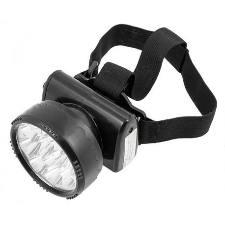 Latarka czołowa LED z akumulatorem