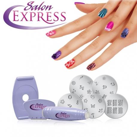 Zestaw do dekoracji paznokci SALON EXPRESS