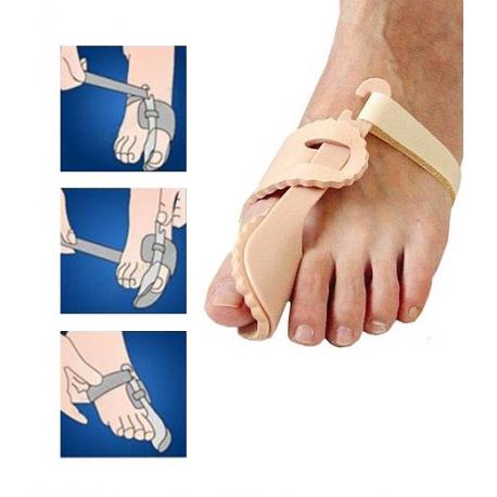 Szyna ortopedyczna na haluksa - 2 sztuki