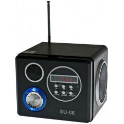 Radio przenośne z pilotem MP3 USB SD