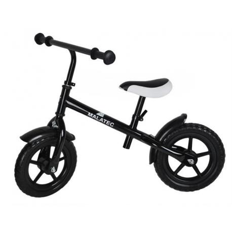 Rowerek biegowy metalowy - czarny