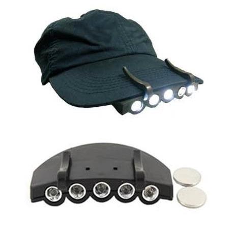 Latarka na czapkę 5 LED