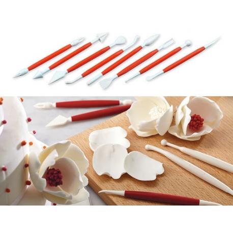 Narzędzia do dekoracji ciast 10 sztuk